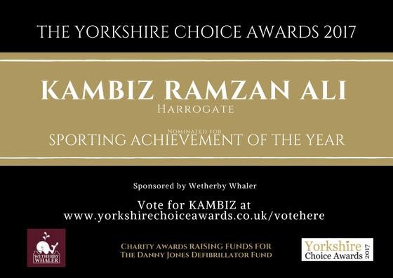 Vote master ali for the sporting achievement of the year